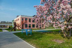 Vstup do areálu zahrady školy